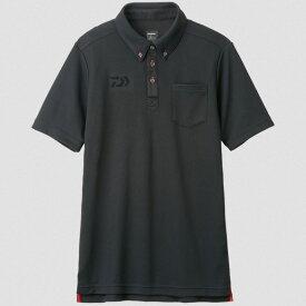 ダイワ(Daiwa) DE-6507 ボタンダウンポロシャツ XL ブラック 04520013