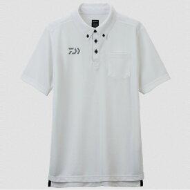 ダイワ(Daiwa) DE-6507 ボタンダウンポロシャツ XL ホワイト 04520018