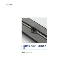 シマノ(SHIMANO)RC−035Qロッドケースストレート215Sブラック48690