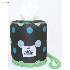 ALL ABOUT ACTIVITY(オールアバウトアクティビティ) ロールペーパーバッグ ポルカドット ROZ0304