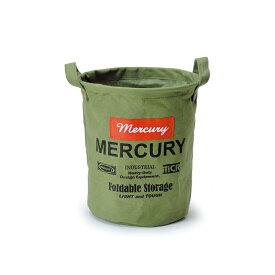 MERCURY(マーキュリー) キャンバスバケツ S カーキ MECABUSK