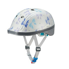 OGK(オージーケー) DUCK (ダック) 子供ヘルメット 49-54cm リボンドットホワイト 20601243