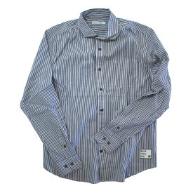 blue infinity ice(ブルーインフィニティアイス) LONG SLEEVE SHIRTS M 739(STRIPE BLUE) BIJ99800
