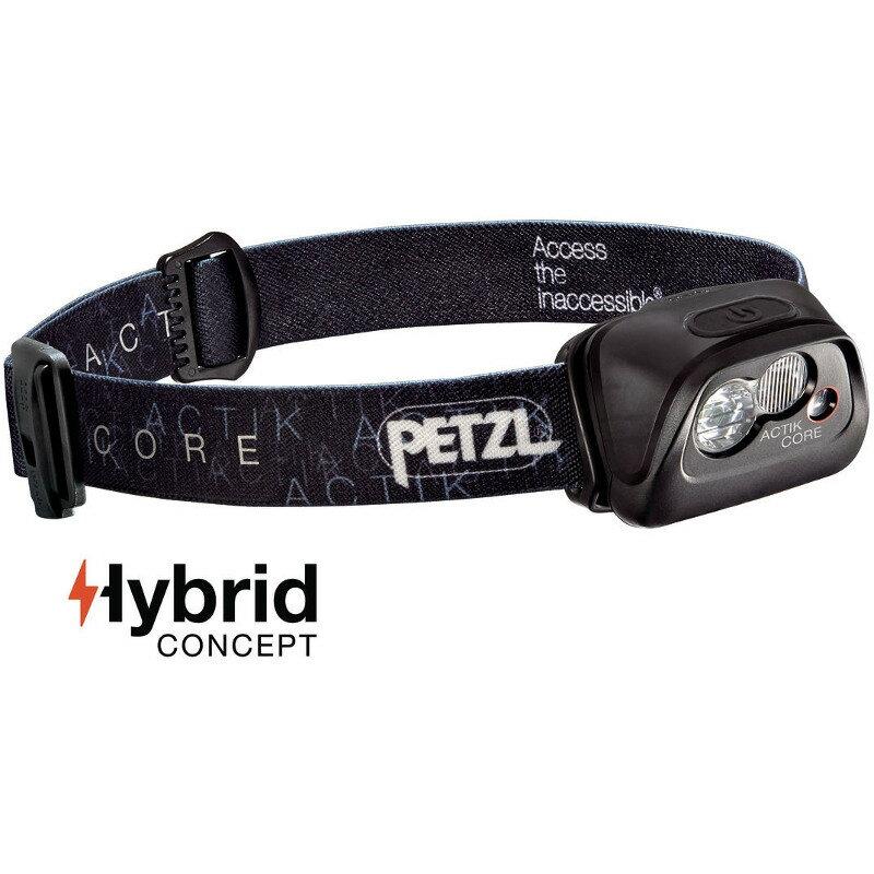 PETZL(ペツル) アクティックコア 最大350ルーメン 充電式 ブラック E99ABA