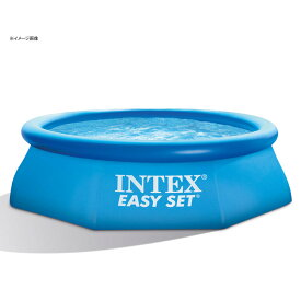 【マラソン期間最大P53倍 春のナチュラム祭】 INTEX(インテックス) イージーセットプール 244×76cm 直径244cm #28110