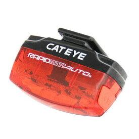 キャットアイ(CAT EYE) TL-AU620-R RAPID micro AUTO テールライト 赤×黒 TL-AU620-R