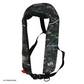 Takashina(高階救命器具) 国土交通省承認 首掛け式ライフジャケット 桜マーク タイプA グリーンカモ BSJ-2520RS