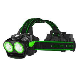 LED LENSER(レッドレンザー) XEO19R エキストリーム 18650 Battery Pack 最大2000ルーメン 充電式 BLACKK/GREEN