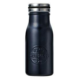 ベストコ プラセル ダブルステンレス マグボトル 350ml ブラック ND-3041