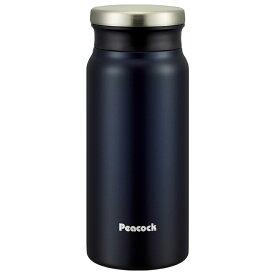 ピーコック(Peacock) スクリューマグボトル 0.4L ネイビー AMZ-40