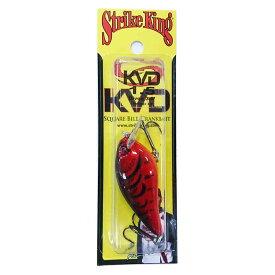 Strike King(ストライクキング) KVD スクエアビルクランクベイト 1.5 450 デルタレッド