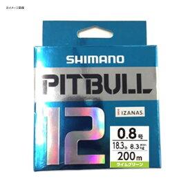 シマノ(SHIMANO) PL-M62R PITBULL(ピットブル)12 200m 1.5号 サイトライム 57298