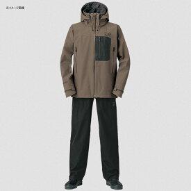 ダイワ(Daiwa) DR-1908 ゴアテックス プロダクト パックライト レインスーツ L ウッドブラウン 08350160