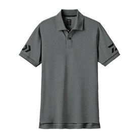 ダイワ(Daiwa) DE-7906 半袖ポロシャツ M ガンメタル×ブラック 08330722