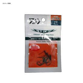 ダイワ(Daiwa) スティーズ ワームフック SS G・FN #5 07310045
