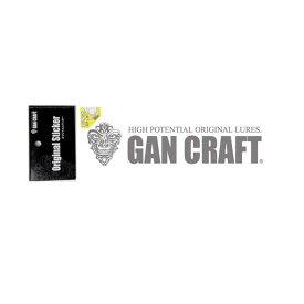 ガンクラフト(GAN CRAFT) オリジナルトランスファーステッカー M #03 シルバー