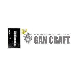 ガンクラフト(GAN CRAFT) オリジナルトランスファーステッカー L #03 シルバー