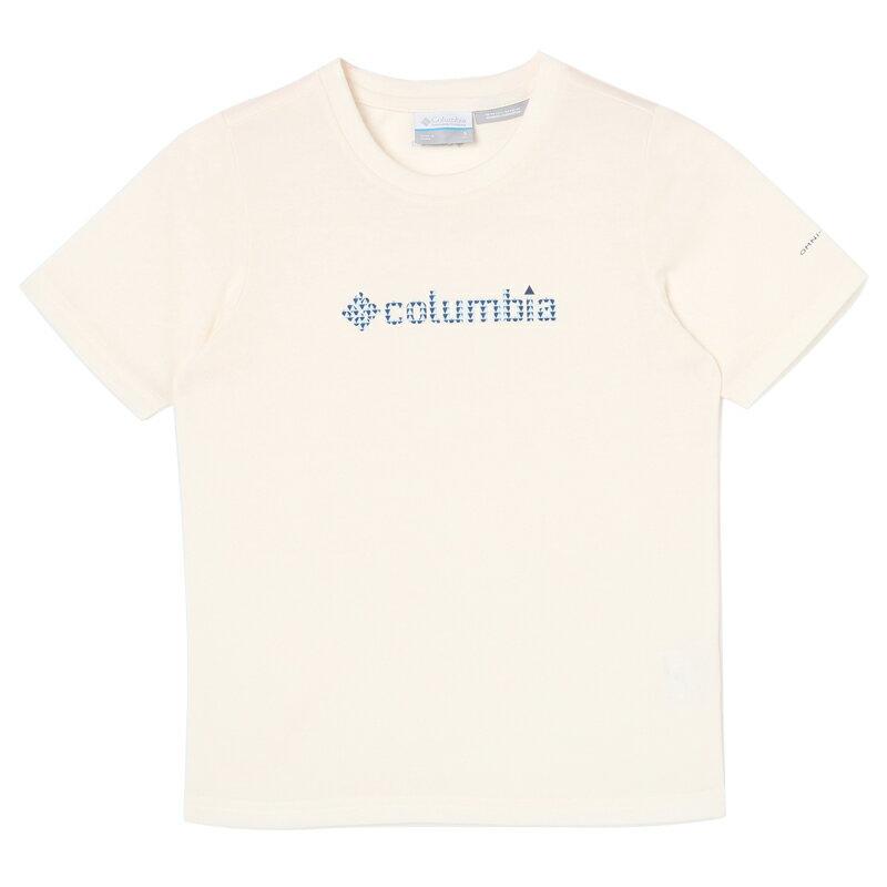 Columbia(コロンビア) ケージー スプリング ユース Tシャツ XS 125(Sea Salt) PY2026