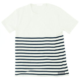 blue infinity ice(ブルーインフィニティアイス) BI-COLOR BORDER T SHIRT L 100699 BIJ90503