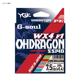 YGKよつあみ G-soul オードラゴン WX4F-1 SS140 300m 2.5号/32lb 5カラード