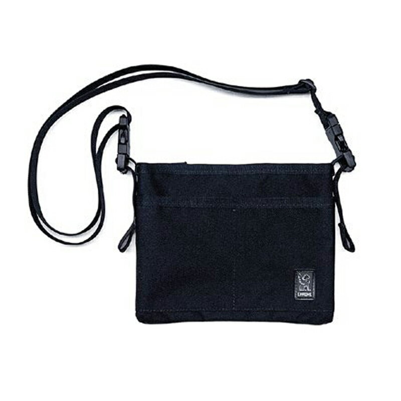 CHROME(クローム) MINI SHOULDER BAG BLACK×BLACK BG245BKBK