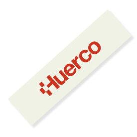 フエルコ(Huerco) ロゴカッティングステッカー 長型大 赤 410079