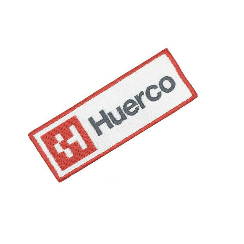 フエルコ(Huerco) ロゴワッペン 35×100mm レッド 430536
