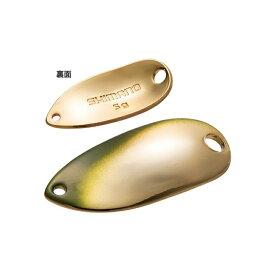 シマノ(SHIMANO) カーディフ ロールスイマー 2.5g 73T グリーンゴールド TR-M25R