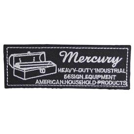 MERCURY(マーキュリー) ワッペン ツールボックス ブラック MEWATOBK