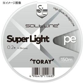 東レモノフィラメント(TORAY) ソルトライン スーパーライト PE 150m 0.3号 ゴールデンオレンジ
