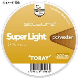 東レモノフィラメント(TORAY) ソルトライン スーパーライト ポリエステル 200m 0.3号 ナチュラル