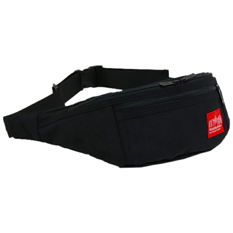 マンハッタン ポーテージ(Manhattan Portage) Alleycat Waist Bag-S Black 1101