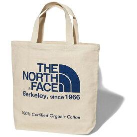 THE NORTH FACE(ザ・ノースフェイス) TNF ORGANIC COTTON TOTE(TNF オーガニック コットン トート) SO(ナチュラルXソーダライトブルー) NM81908
