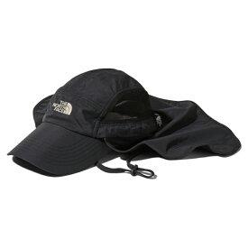 THE NORTH FACE(ザ・ノースフェイス) SUNSHIELD CAP(サンシールド キャップ) L K(ブラック) NN01905