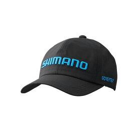 シマノ(SHIMANO) CA-010S GORE-TEX ベーシックレインキャップ フリー ブラック 63140