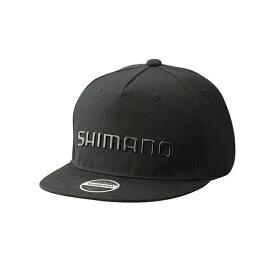シマノ(SHIMANO) CA-091S フラットブリムキャップ フリー ブラック 63209