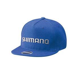 シマノ(SHIMANO) CA-091S フラットブリムキャップ フリー ブルー 63213