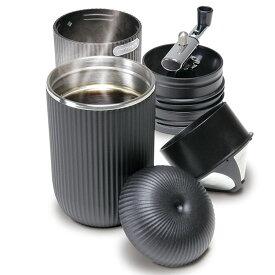 アウトドアマン(OUTDOOR MAN) ポータブルコーヒーメーカー ブラック KK-00417BK