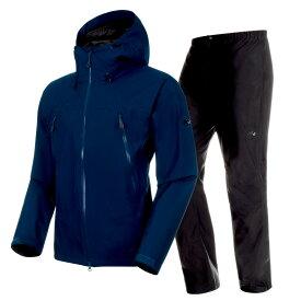MAMMUT(マムート) CLIMATE Rain Suit AF Men's L 50231(poseidon×black) 1010-26551
