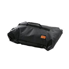 ドッペルギャンガー(DOPPELGANGER) ターポリンツーリングシートバッグ 60L ブラック DBT427-BK