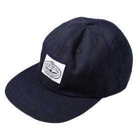 POLeR(ポーラー) LASSO 6PANEL DRAWCORD CAP BLACK 55100009-BLK