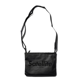 サテライト(Satellite) BASIC SACOCHE PVC BLACK STBSPBKF3176