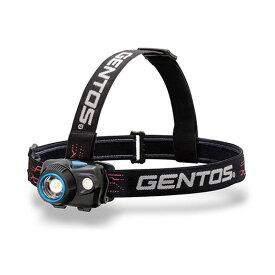 GENTOS(ジェントス) W STAR ダブルスターシリーズ ヘッドライト 最大580ルーメン 単四電池式 WS-243HD