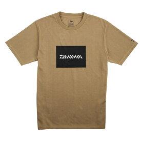 ダイワ(Daiwa) DE-81009 BOXロゴ ショートススリーブTシャツ M モカ 08331664