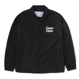 POLeR(ポーラー) CAMP VIBES COACH JACKET L BLACK 55200011-BLK