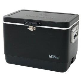 TENT FACTORY(テントファクトリー) メタルクーラー スチールボックス L BK TF-MBM51