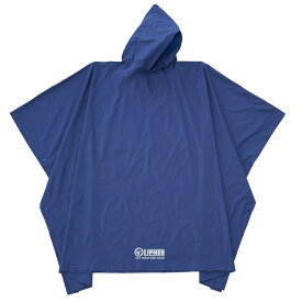 ロゴス(LOGOS) LIPNER PVC ポンチョ フリー ブルー 23712159