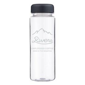 RIVERS ウォールマグ リユースボトルS500 アンプラグド MT 500ml クリア UPM500