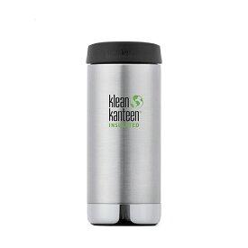 klean kanteen(クリーンカンティーン) TKワイド12oz w/Cafe 355ml ステンレス 19322067015012
