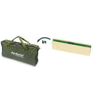 モビバ(Mobiba) サウナベンチ用バッグ グリーン 27208